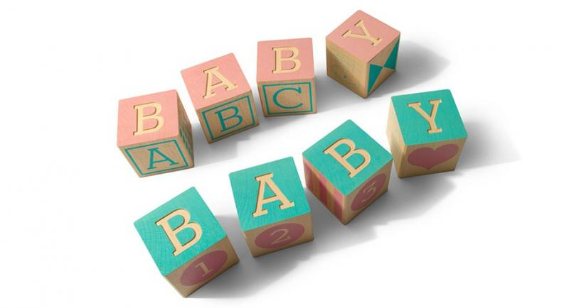 Baby Wood Blocks