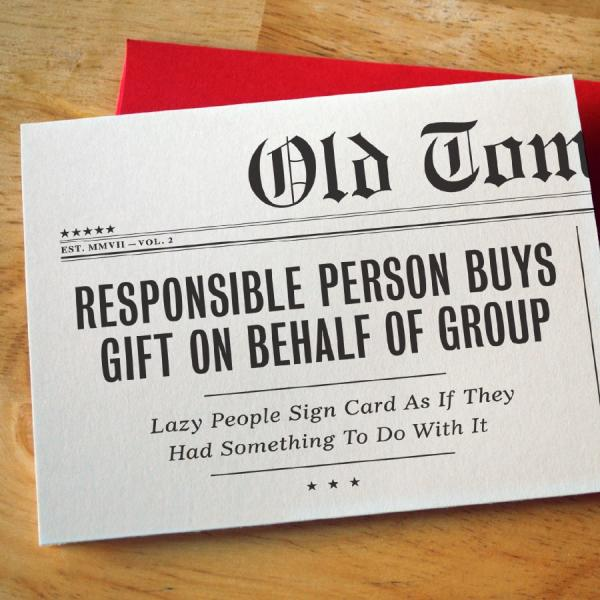 Birthday: Responsible Person