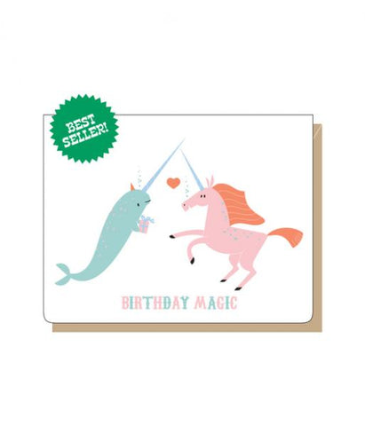 Birthday Magic - Narwhale/Unicorn
