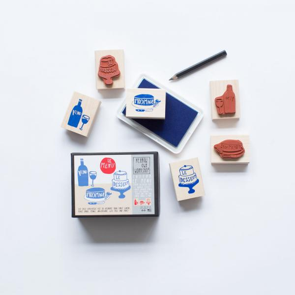 Le Menu Stamp Kit