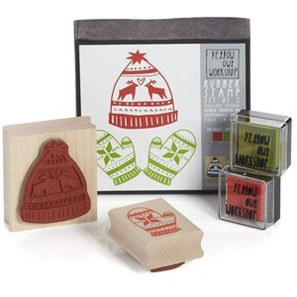 Winter Woolens Stamp Kit