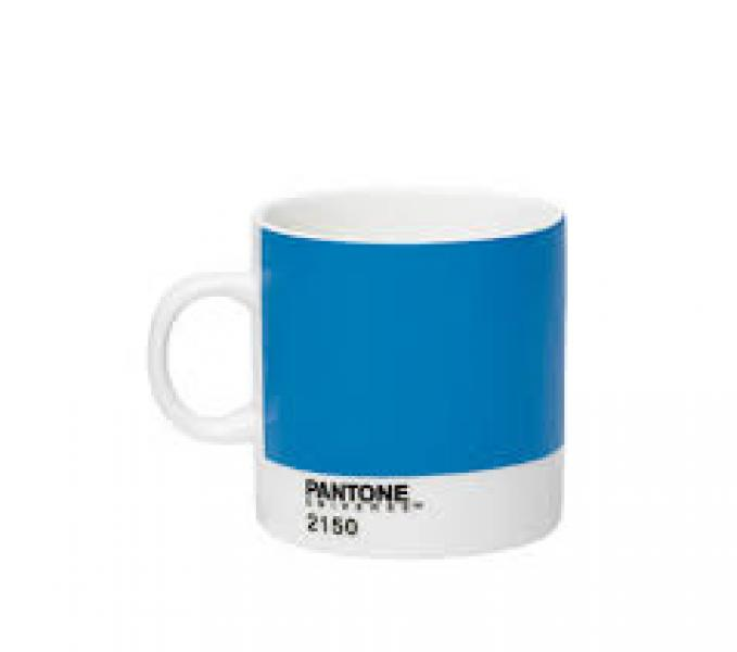 Pantone Porcelain Mug Brilliant Blue 2150