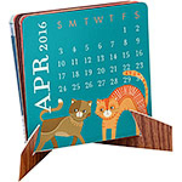 2016 Mini Accordion Calendar
