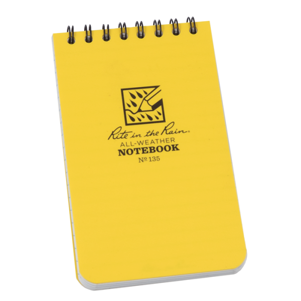 All-Weather Notebook No. 135