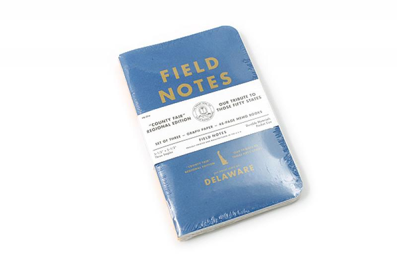 Field Notes County Fair Delaware Cover