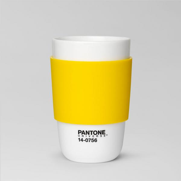 Pantone Empire Yellow Cup 14-0756