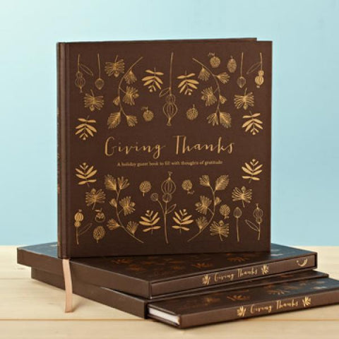 Giving Thanks Memory Book