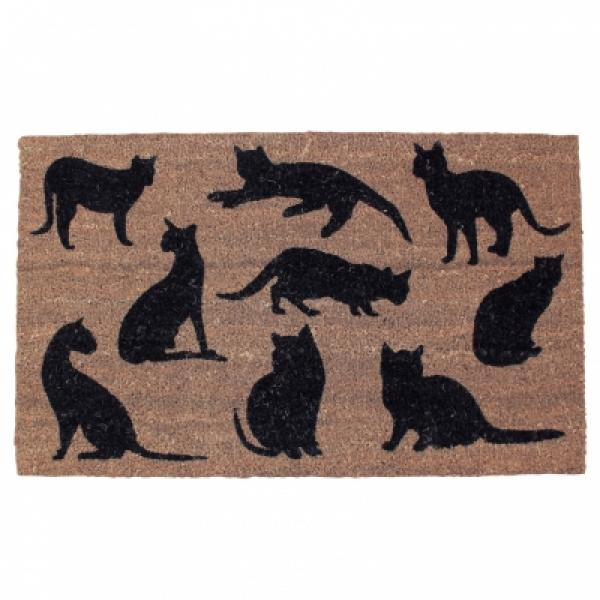 Coir Cat Door Mat