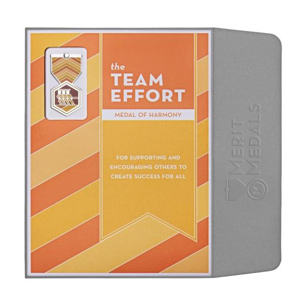 Team Effort Medal Card - Front