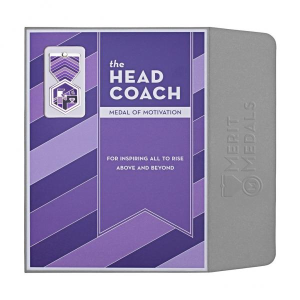 Head Coach Medal Card - Front