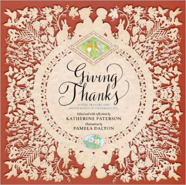 Giving Thanks Cut Paper Book