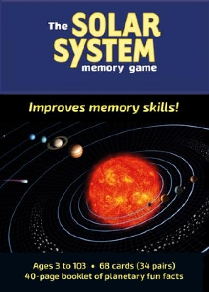 Solar System Memory Game