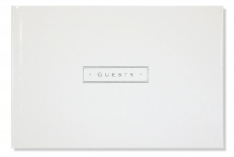 Artisan Guest Book - White