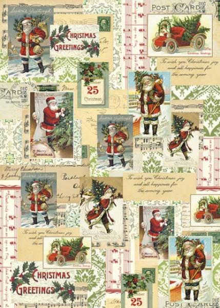 Wrap - Santa Collage