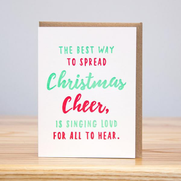 Best Way to Spread Cheer - Box of 6