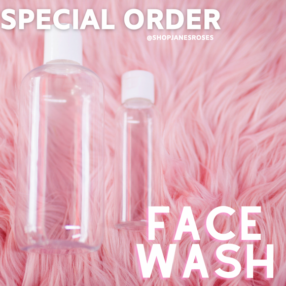 SPECIAL ORDER DARK SPOT FACE WASH