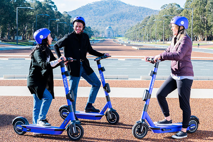NEWS: Beam launches Canberra's second fleet of e-scooters (16 Oct 20)