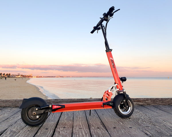EMOVE Cruiser 2020 Port Melbourne (c) EcoMotion Electric Scooters
