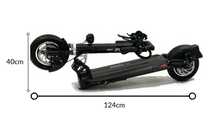 Load image into Gallery viewer, EMOVE Cruiser Folded Electric Scooter Dimensions