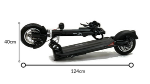 EMOVE Cruiser Folded Electric Scooter Dimensions