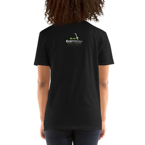 T-shirt: life's too short to sit in traffic (Black short-sleeve Unisex T-shirt)