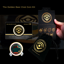 Load image into Gallery viewer, The Golden Beer Club Coin Kit
