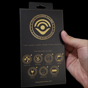The Golden Health Club Coin Kit