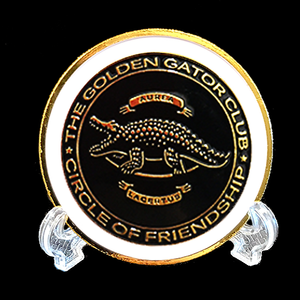 The Golden Gator Club Coin Kit