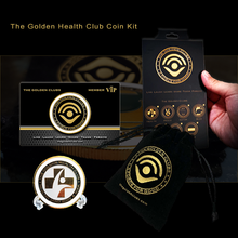 Load image into Gallery viewer, The Golden Health Club Coin Kit