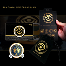 Load image into Gallery viewer, The Golden NAK Club Coin Kit
