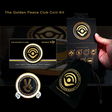 Load image into Gallery viewer, The Golden Peace Club Coin Kit