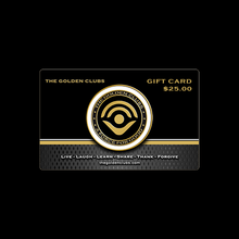 Load image into Gallery viewer, The Golden Club Gift Card