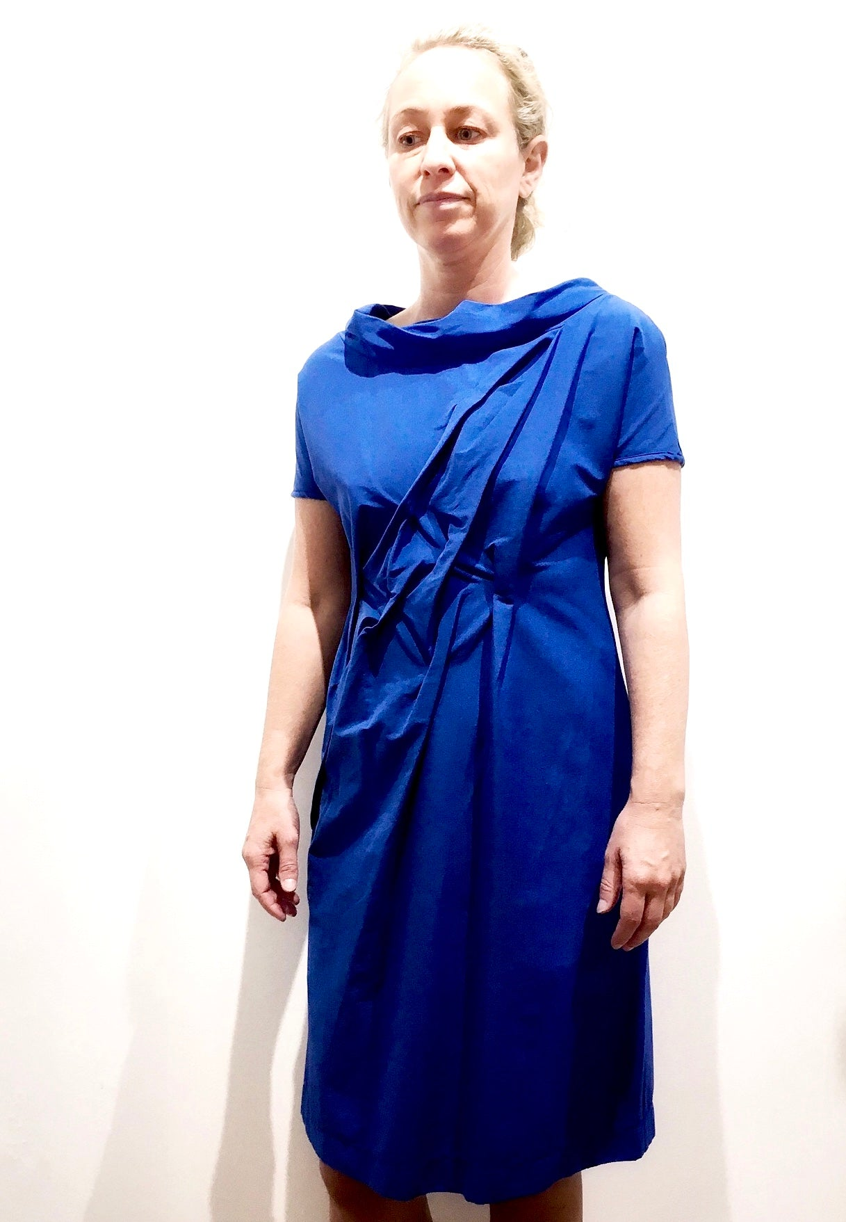Veronique Miljkovitch Davina Dress - Royal Blue