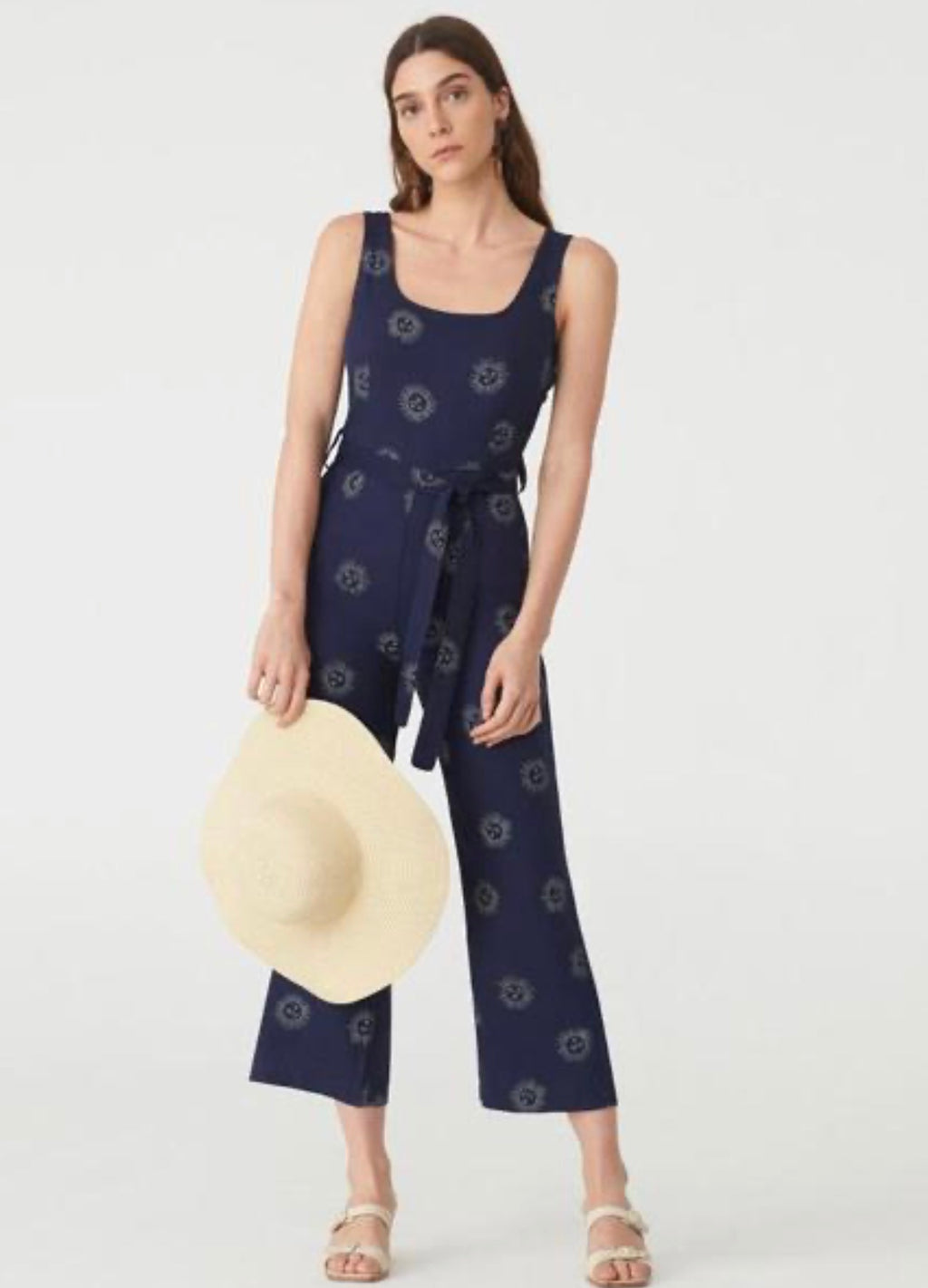 Nice Things Paloma S Sun Face Jumpsuit