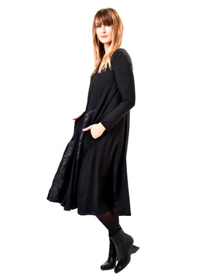 Alembika Coated Fleece Insert Dress