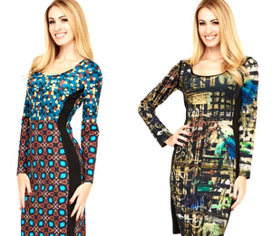Eroke Retro Camo Reversible Dress