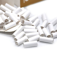 Load image into Gallery viewer, 150Pcs 6MM Natural Unrefined Pre-rolled Tips Cigarette Filter Rolling Paper for Hand Rolled Cigarettes Gifts