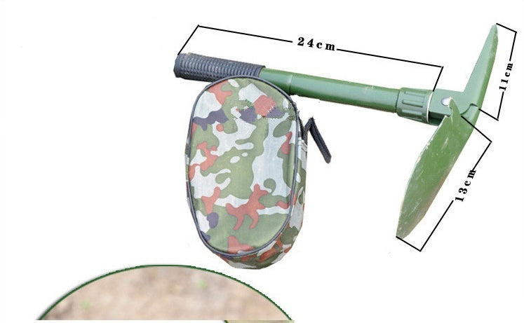 Multi-functional Military Folding Shovel Survival Spade Emergency Garden Camping Outdoor Tool
