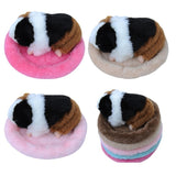 Winter Soft Fleece Guinea Pig Warm Bed Small Animal Cage Mat Hamster Sleeping Bed