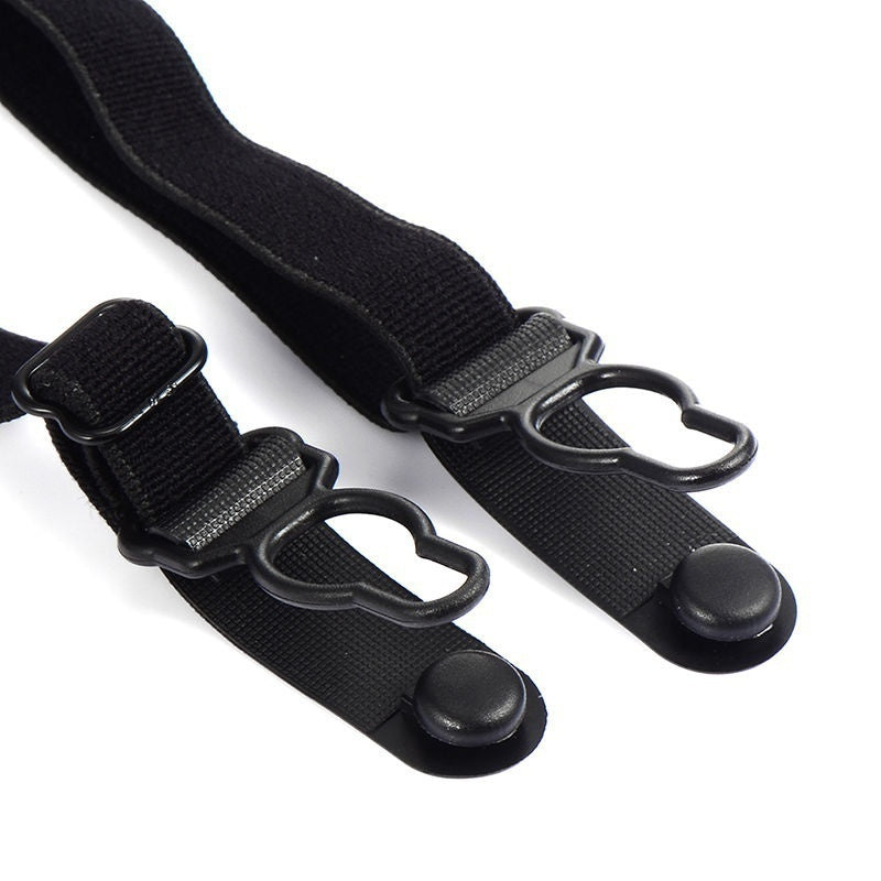 1Pair Mens Stays Holders Elastic Shirt Garter Non-Slip Locking Clamps Uniform