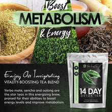 Load image into Gallery viewer, Detox Tea - 14 Day Cleanse - CLEANSE Herbal Teatox Reduces Bloating & Burns Fat