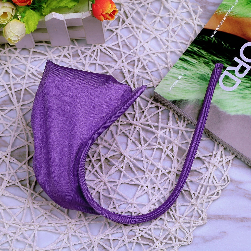 Men's Sexy C-String Lingerie Bulge Pouch Invisible Thong Underwear