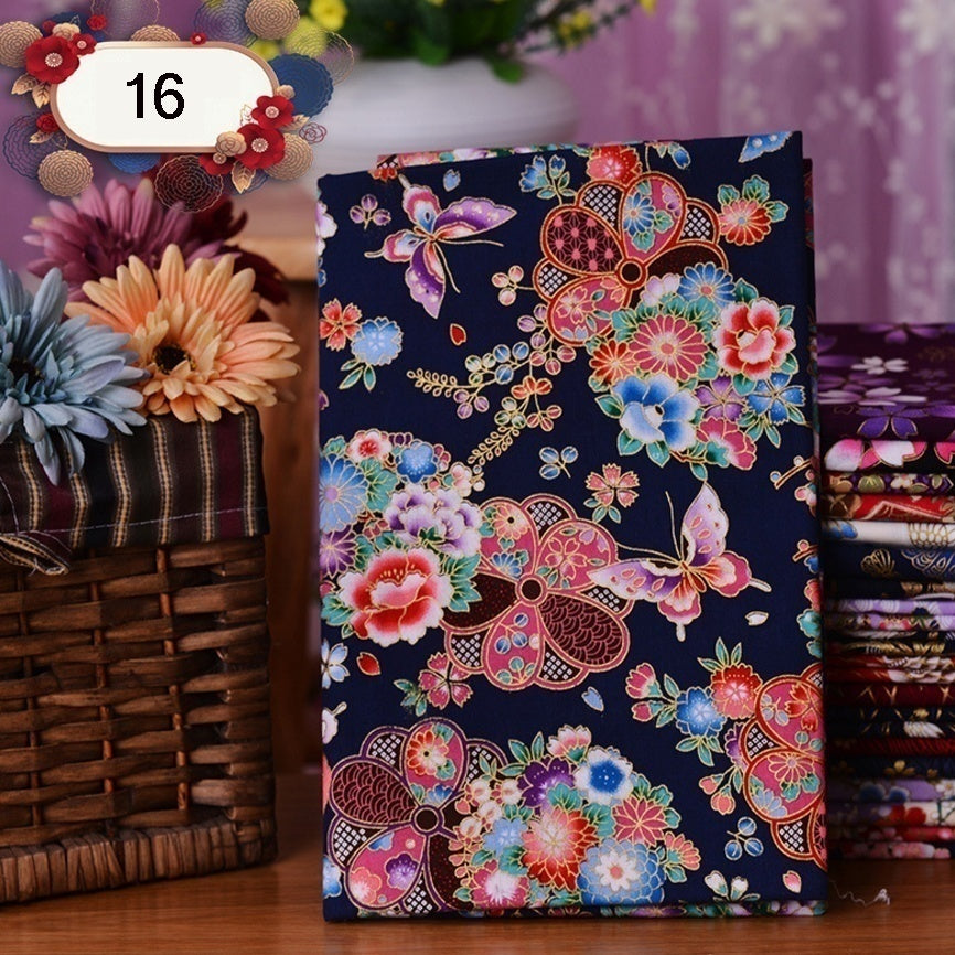 36*42cm/14.3*16.5inch 1pcs Thicken 100% Cotton Quilting Fabric Printed  Fabrics For Patchwork DIY Sewing