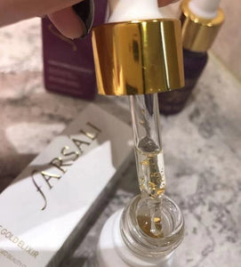 New Makeup Front Milk 24K Rose Gold Foil Lock Water Moisturizing Makeup Makeup Makeup 30m/15mll Essence Purple Bottle / White Bottle / Black Bottle