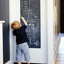 Load image into Gallery viewer, Removable Vinyl Draw Decor Mural Decals Art Chalk Board Blackboard Chalkboard Wall Sticker for Kids Rooms 45cmx200cm