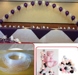 5m Balloon Chain Tape Arch Connect Strip for Balloon Decorating Strip Wedding Birthday Party Decor New