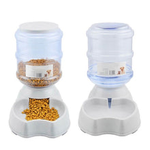 Load image into Gallery viewer, 3.8L Automatic Detachable Pet Feeder Food Bowl Water Dispenser Feeding Machine Leakproof