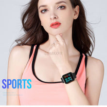 Load image into Gallery viewer, Bluetooth Waterproof Smart Watch Fashion Women Ladies Heart Rate Monitor Smartwatch relogio inteligente For Android IOS hodinky smart