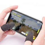 2pcs Handy Light-weight Anti-Slip Finger Wearing Phone Game Controller Mobile Joystick