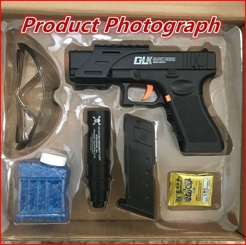 Toy Glock Water Projectile Gun Suit Gift Goggles